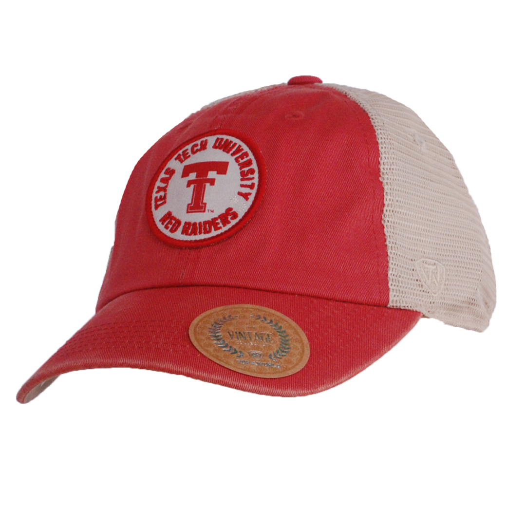 Top of the World Keepsake Washed Cotton Mesh Snapback Cap a0c9f5f2eee3