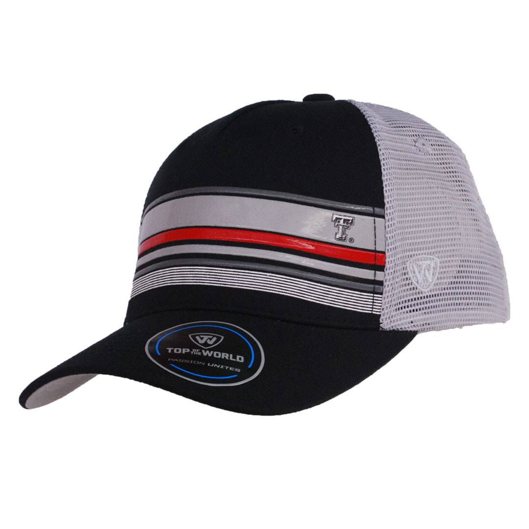 e2b52f3ae1367 Top of the World Augie Snapback Trucker Mesh Cap