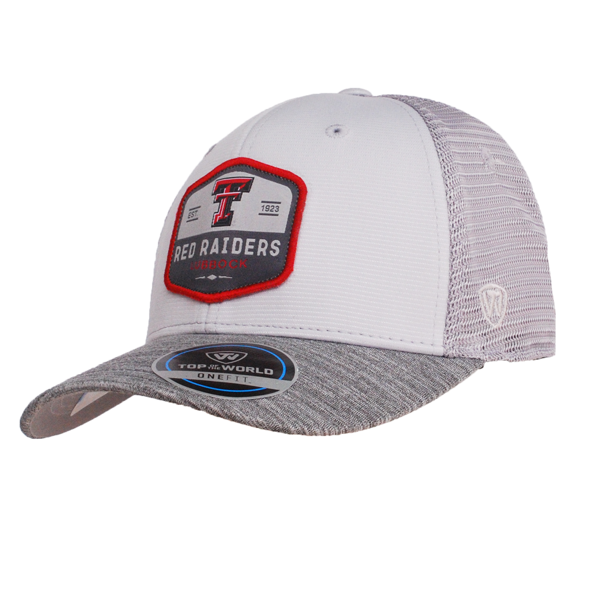 f3b95420924 Top of the World Hyjak One Fit Three Tone Grey Cap