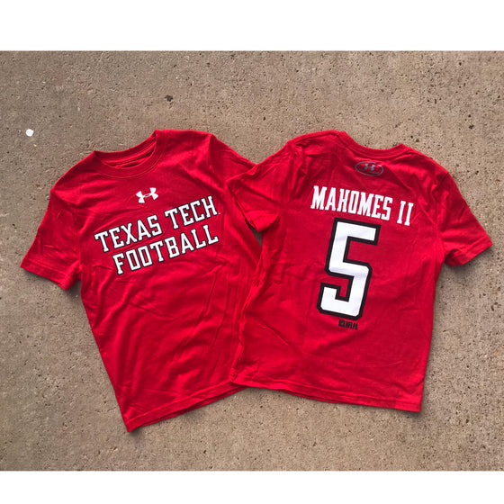 5a12f01ef68a Under Armour Performance Cotton Tee - Mahomes Collection