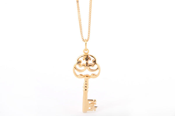 Cosy 14kt Yellow Gold Key,Necklace, Pendant, yellow gold, Cosy