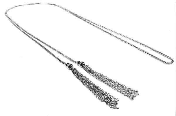 ENTANGLED Lariat Necklace