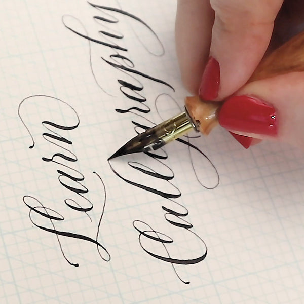Modern Calligraphy Follow-Along: Whimsical Letters - November 21st