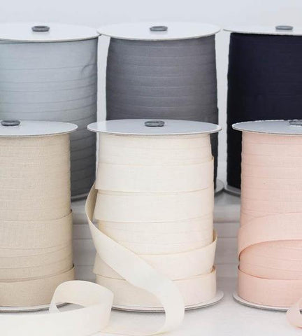 "NEW - Tight weave cotton ribbon 1"" width, 109 yards"