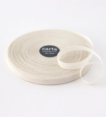 Loose weave cotton ribbon