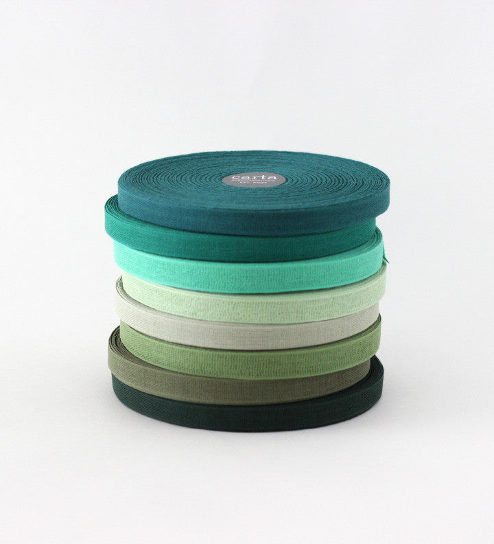 SALE - Loose weave cotton ribbon - factory seconds