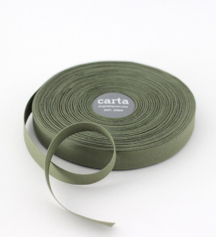SALE - Tight weave cotton ribbon - factory seconds