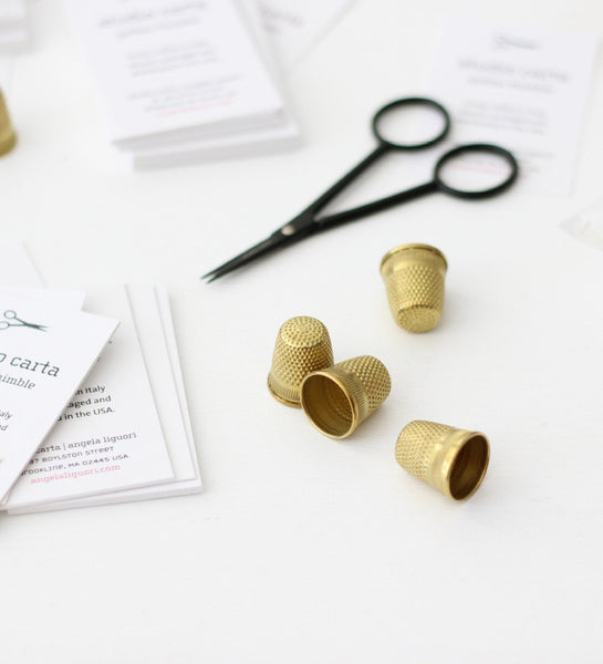 NEW - Golden Thimble