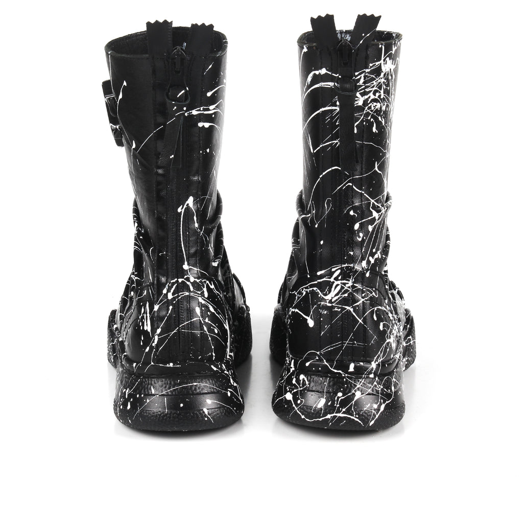 Arrow- SG4050 Genuine Leather Splashed Painted Boots