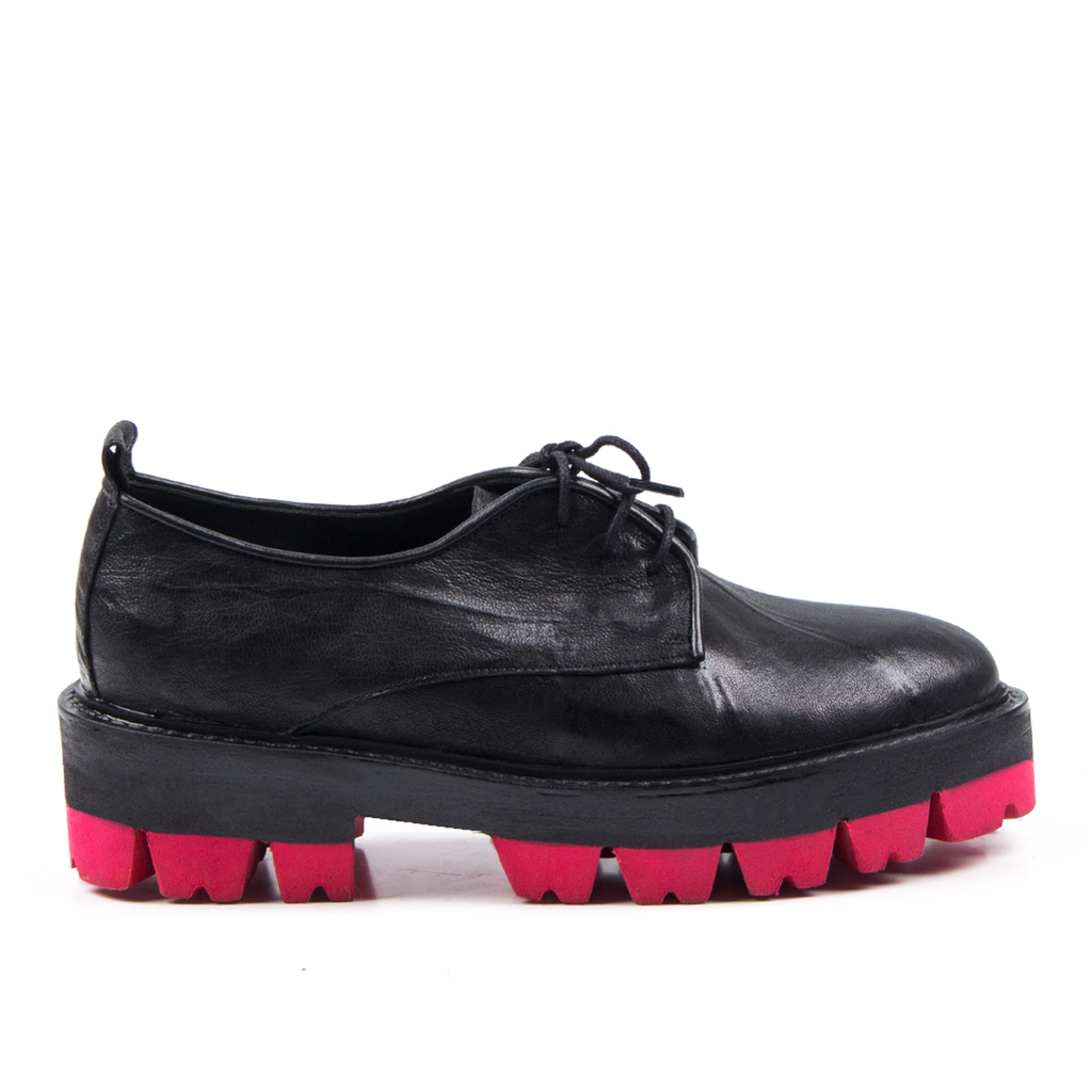 Gigi- SG1031 Genuine Leather Shoes with Red Outsole- Unisex