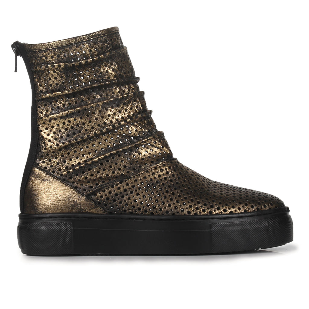 Andy- SG2015 Foil Coated Laser Cut Summer Boots- Unisex