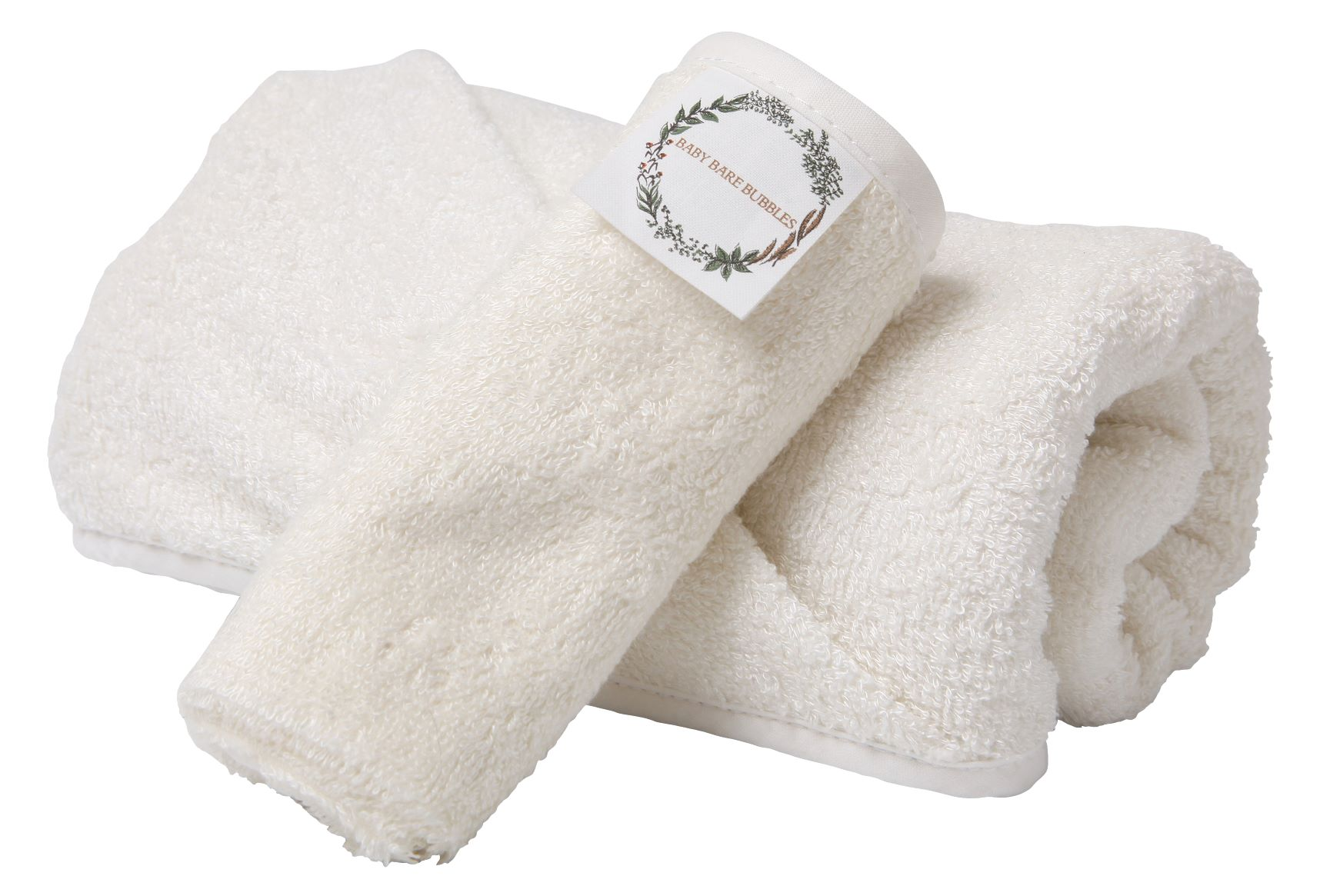 Hooded Supersoft Bamboo Baby Towel and Washcloth Set