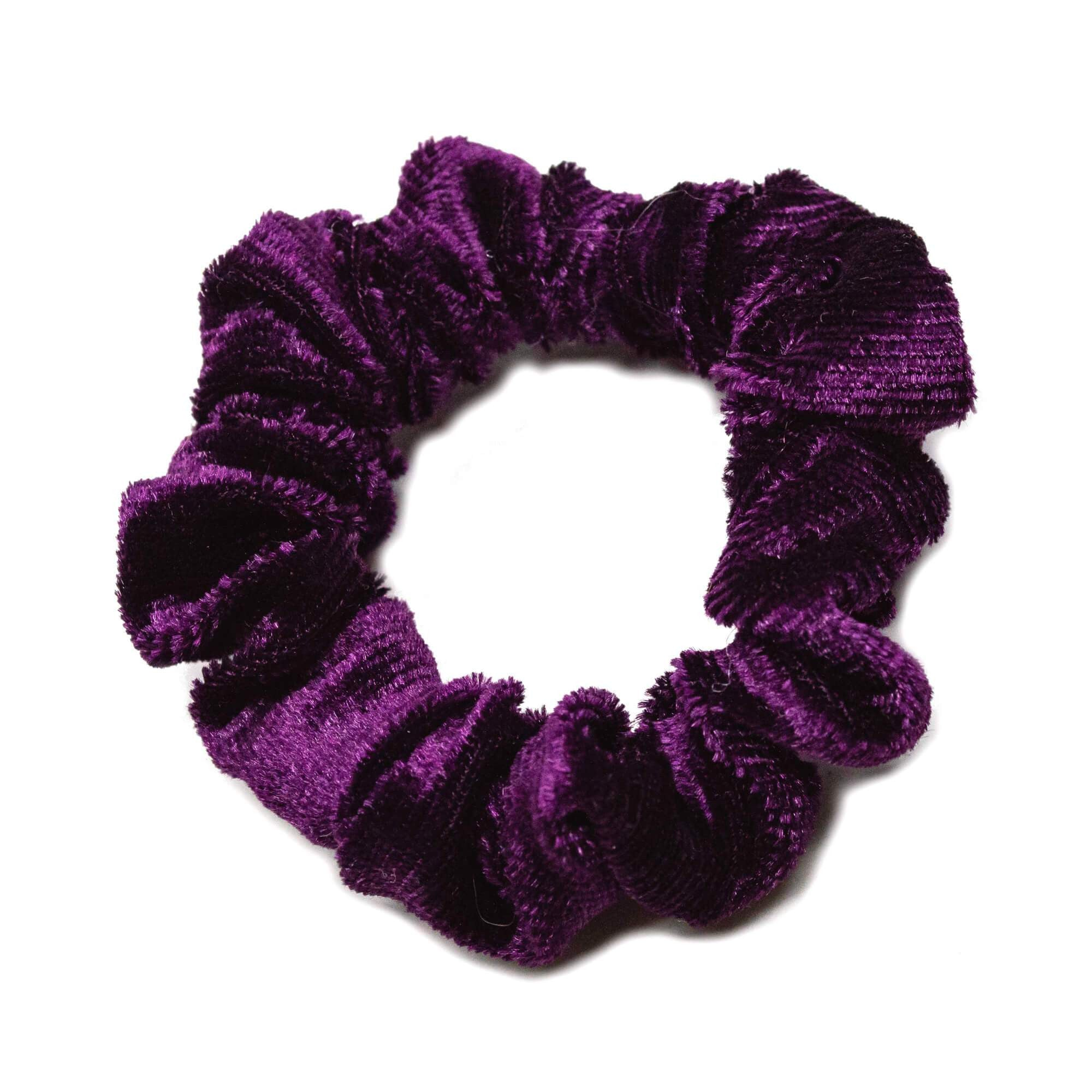 Image of   Lille Velour Scrunchie Lilla