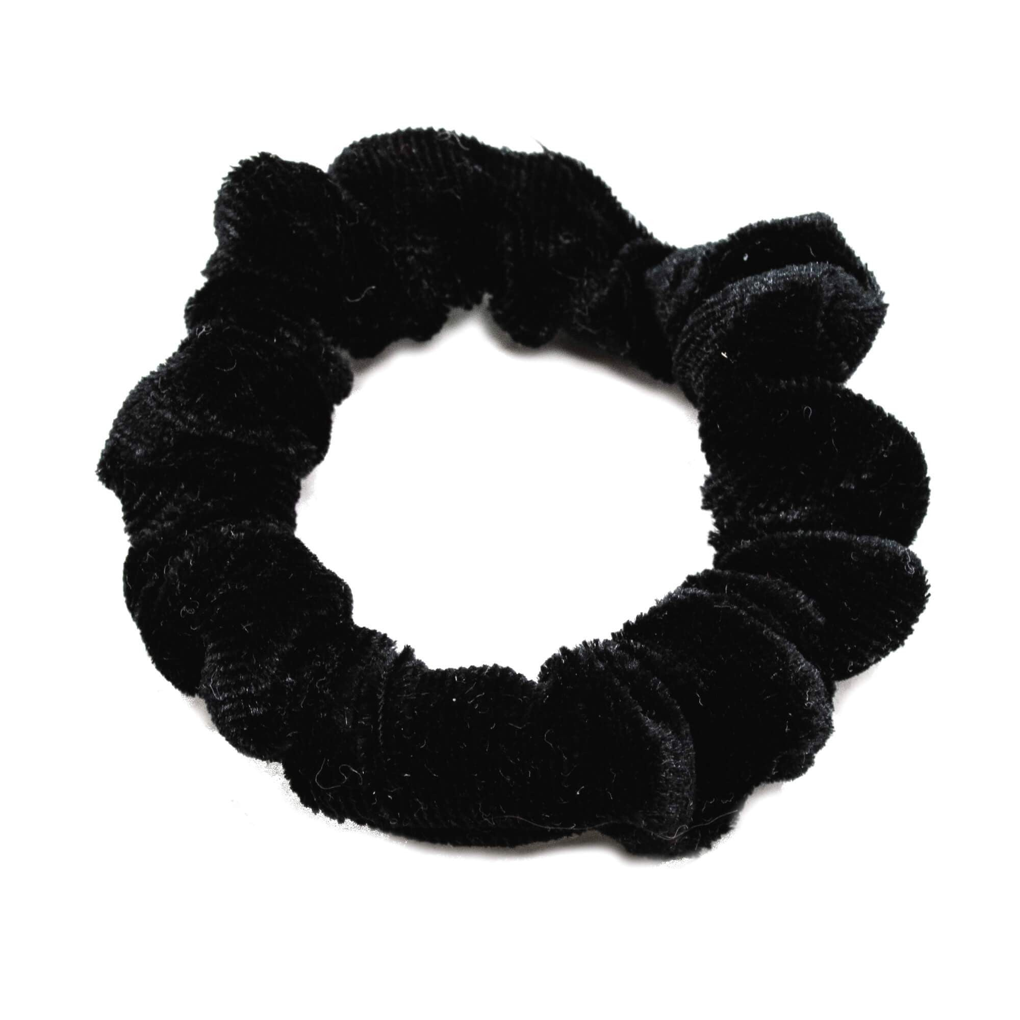 Image of   Lille Velour Scrunchie Sort