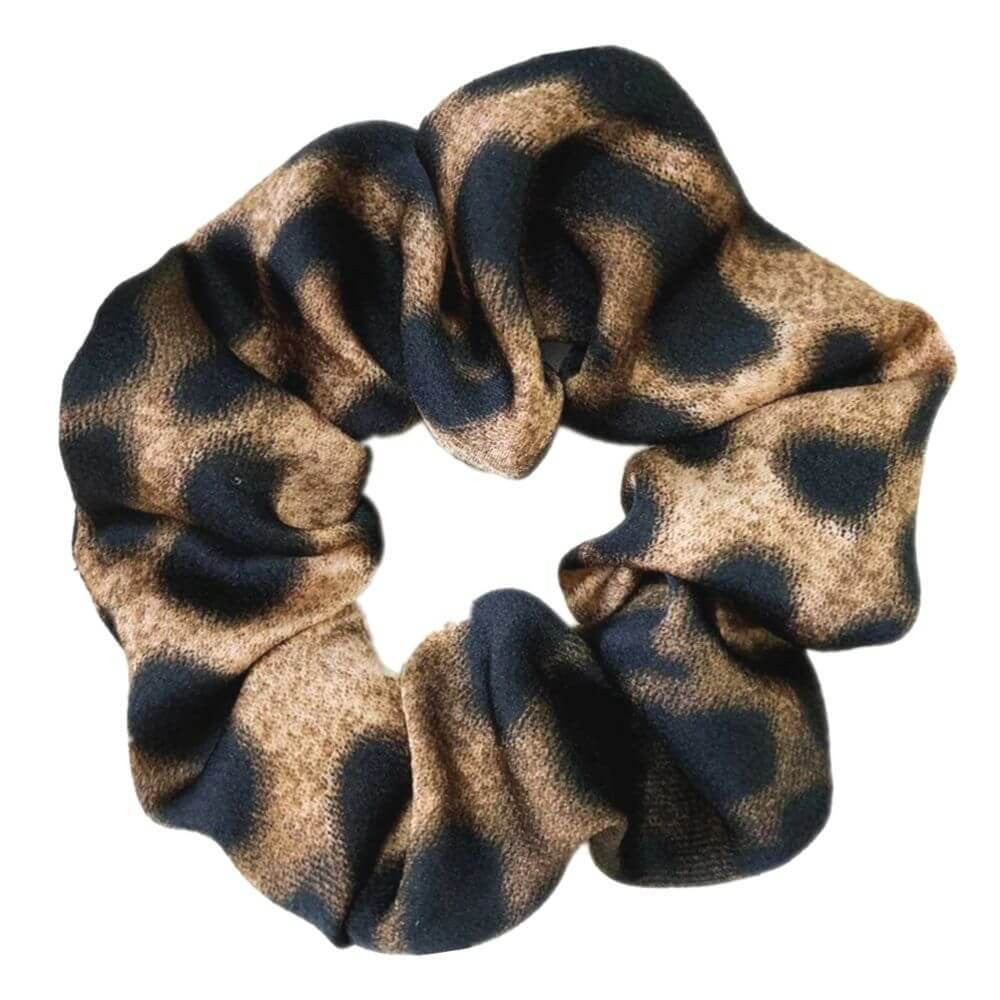 Image of   Penny Leopard Scrunchie