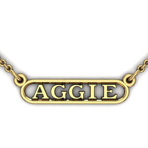 Aggie Horizontal Dangler