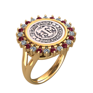 "Wayback ""Sweetheart"" Coin Ring"