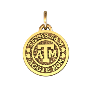 Aggie Mom Coin Pendants