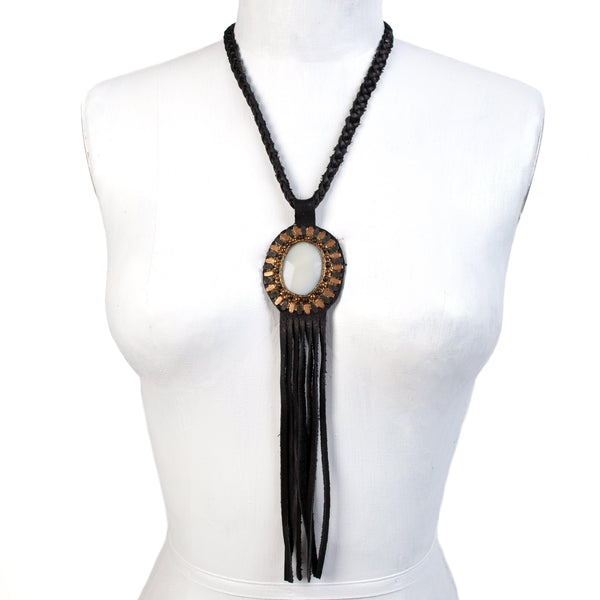 Rocal Single Stone Necklace - Calleen Cordero Designs