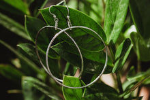 Load image into Gallery viewer, Large Hoop Earrings / Silver / Made to Order