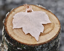 Load image into Gallery viewer, Leaf Pendant, Rose Gold Leaf Necklace, Real Leaf Jewelry, Nature Pendant, Elegant Pendant, Nature Inspired Jewelry, Electroformed
