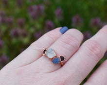 Load image into Gallery viewer, Custom Birthstone Ring, Custom Mom Jewelry, Custom Mothers Ring, Personalized Birthstone, Birthstone Ring Mom, Organic Ring, Present Mom