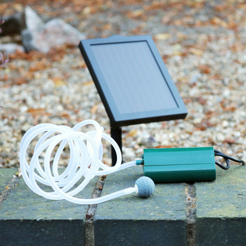 solar air pump for garden fishponds