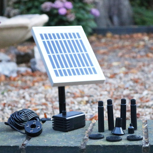 Solar Fountain Kit