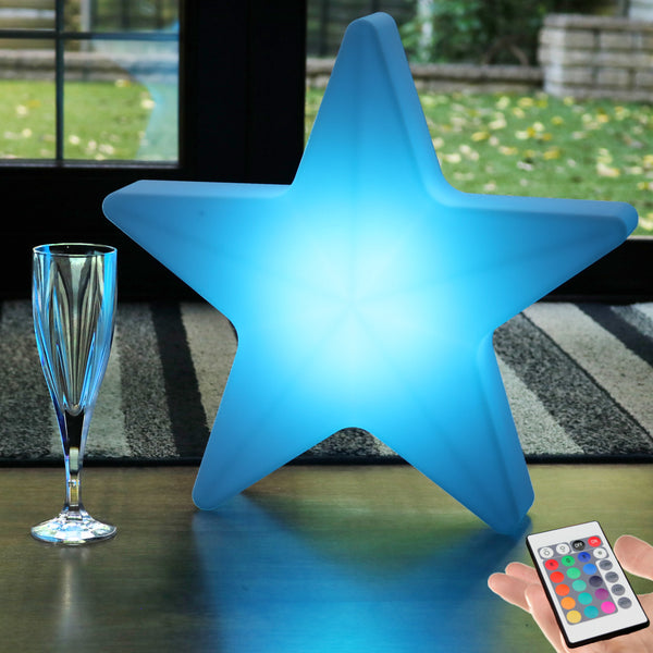 LED Floor Lamp, 40cm Cordless Star Mood Light for Bedroom, Kids Room