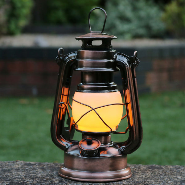 amber led lantern light