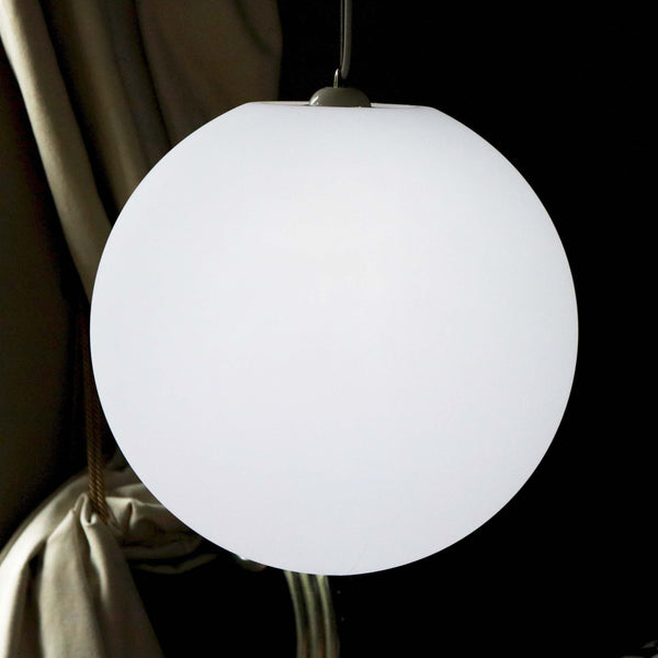 white interior lamp