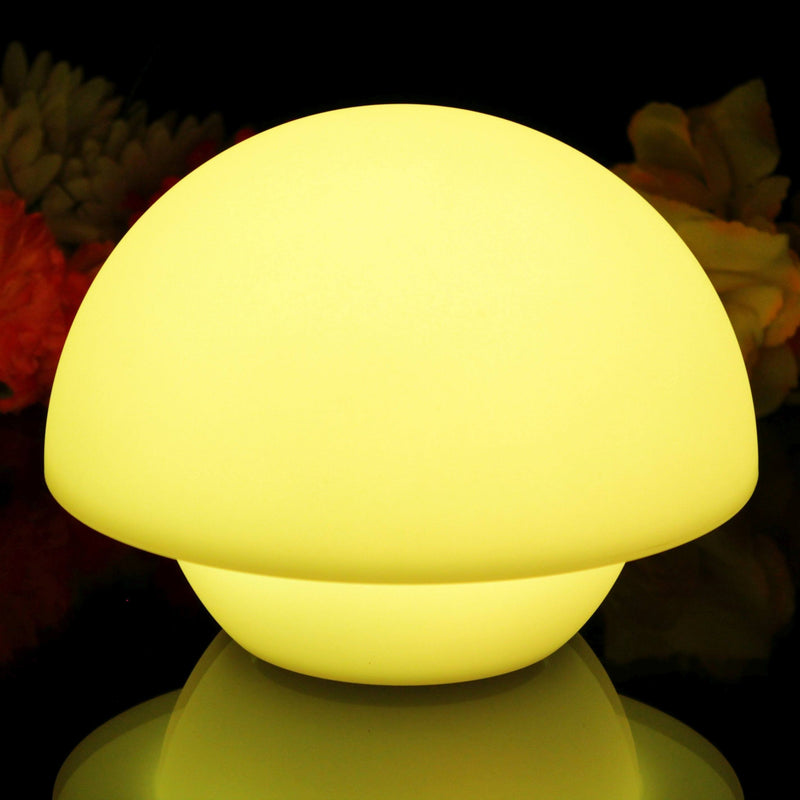 Colour changing LED mushroom