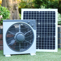 solar fan and panel kit