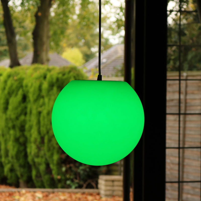 colour changing hanging lamp