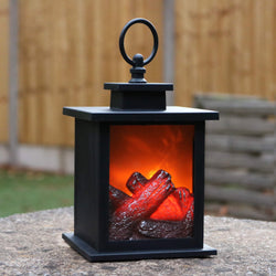 fireplace lantern lamp