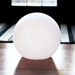 20 cm Sphere Ball Lamp Shade for Table Lamp or Hanging Pendant Light, 200mm Plastic Shell