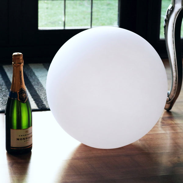 Floor Lamp Shade, Ball Globe Shell, PE Plastic, 40cm Diameter