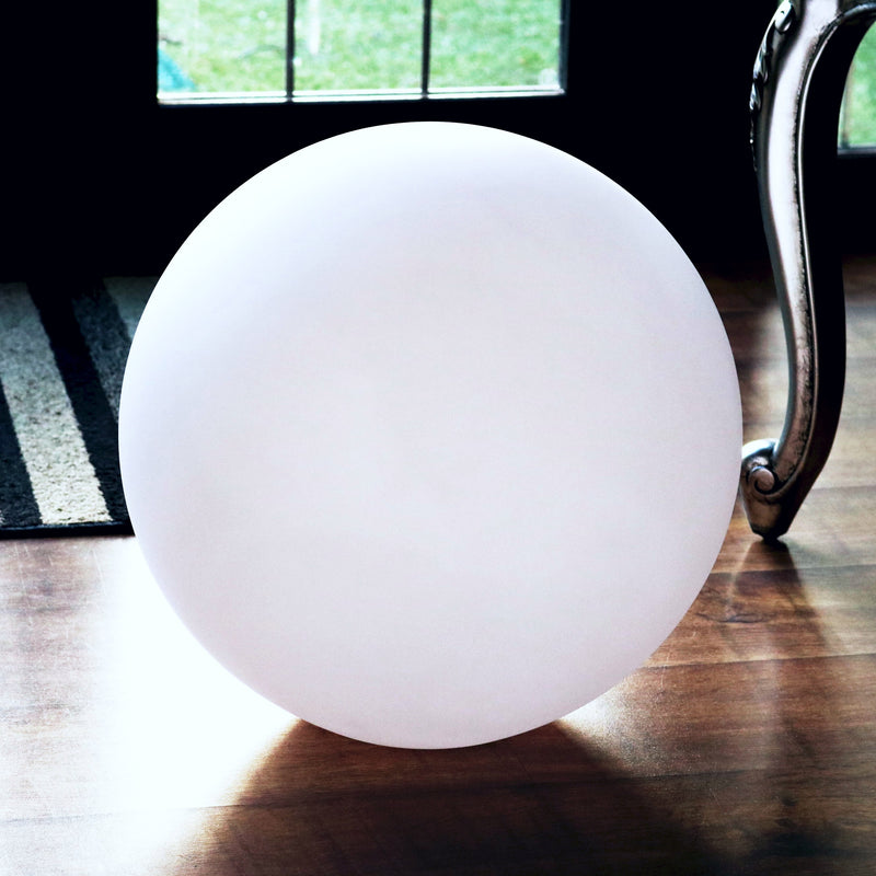 30 cm Globe Orb Table Lamp Shade, Hollow PE Plastic Ball Sphere Shell, 300mm Dia.