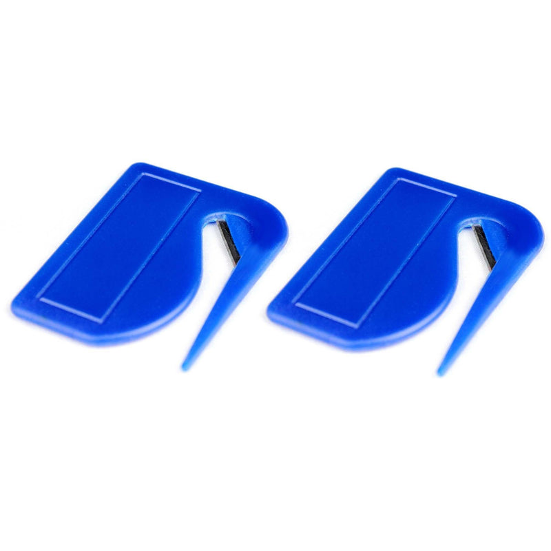 Set of 2 Compact Letter Openers - Blue