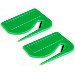 Set of 2 Precision Letter Openers - Green
