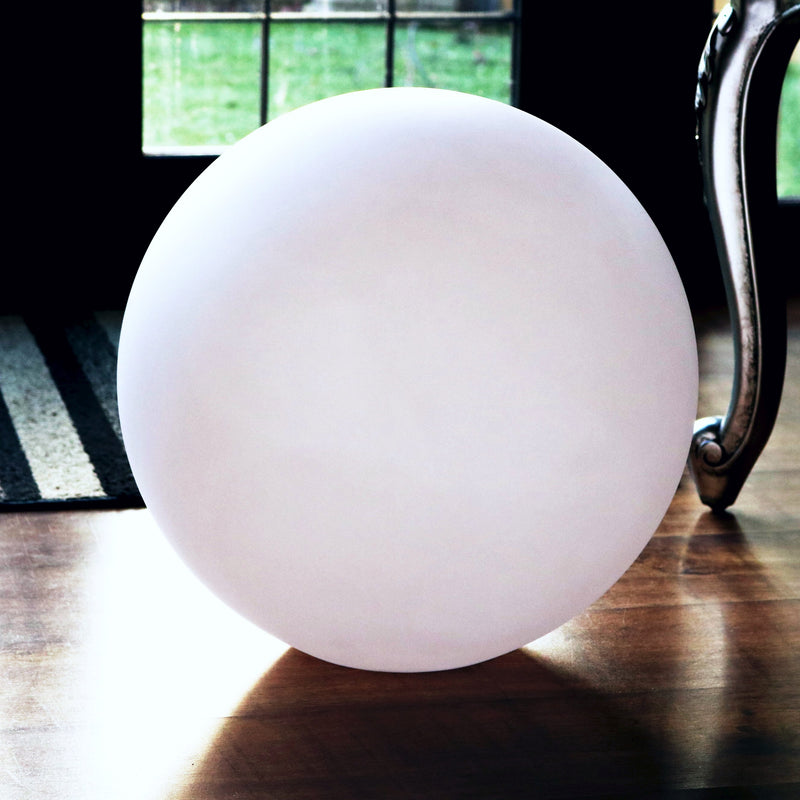 60 cm Globe Orb Floor Lamp Shade, Hollow PE Plastic Ball Sphere Shell, 600 mm Dia.
