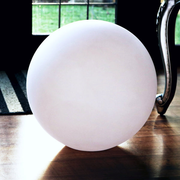 Large Sphere Plastic Shell, Floor Lampshade, 60cm Diameter