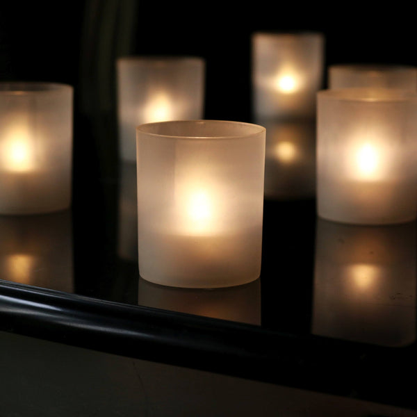flicker flame led tealights
