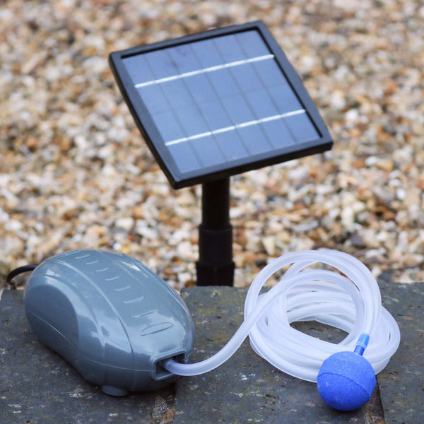 1.5W solar pond air pump (1 stone)