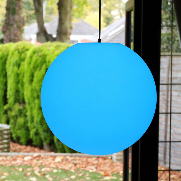 Hanging mood ball lamp