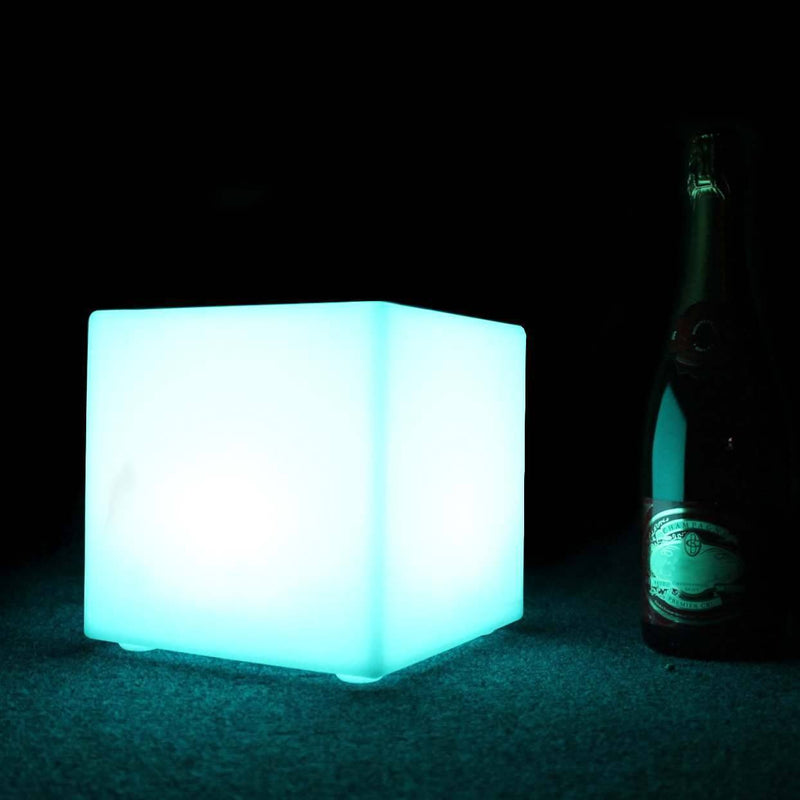 LED Mood Cube Lamps Colour Changing Lights, Set of 3
