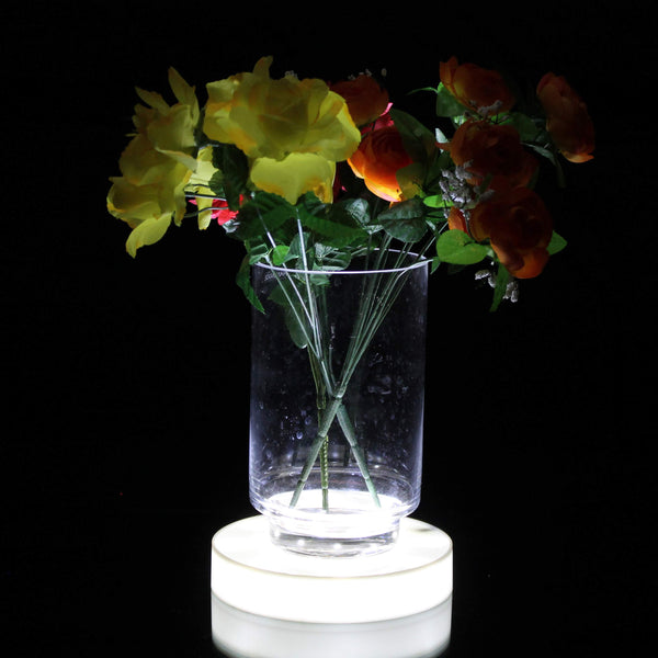 Shining LED vase base