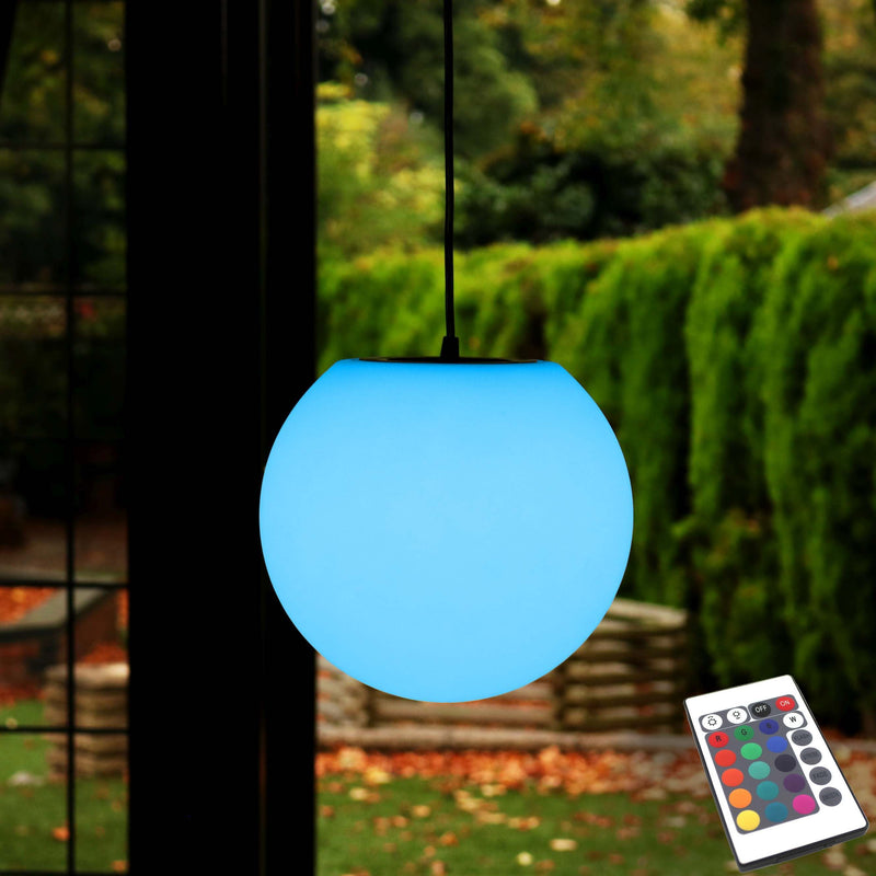 20cm Hanging Sphere Rechargeable Colour Changing Ball