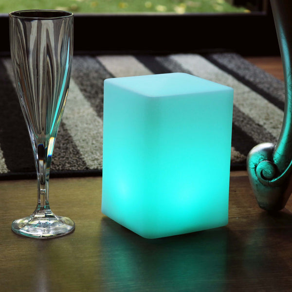 Cordless Colour Changing LED Table Lamp, Ambient Bedside Night Light
