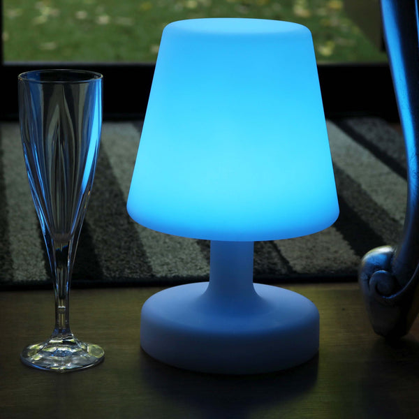 26cm Decorative Dimmable LED Table Lamp Bedside Light, Colour Changing